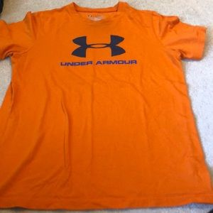 Under Armour heat gear t shirt youth large loose